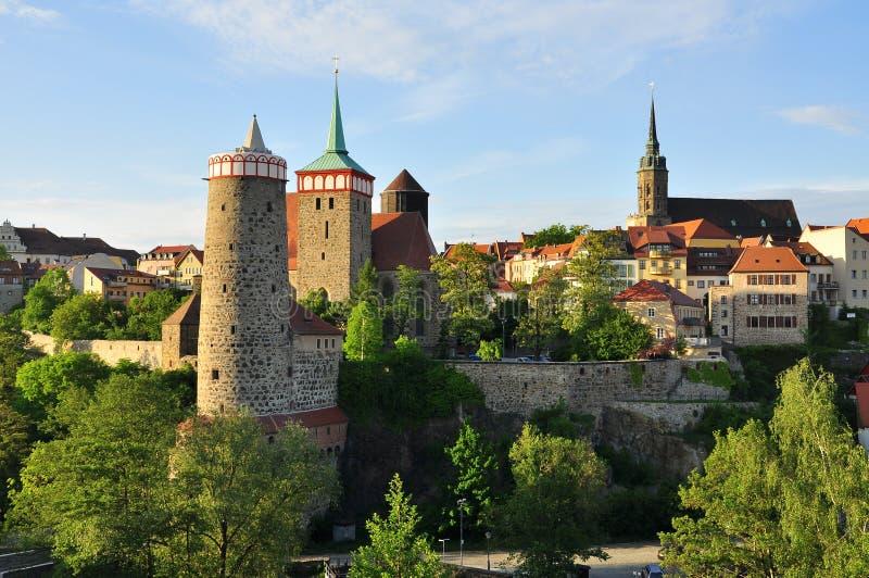 Download Bolzano - La Sassonia, Germania - Dal Tramonto Fotografia Stock - Immagine: 67636841