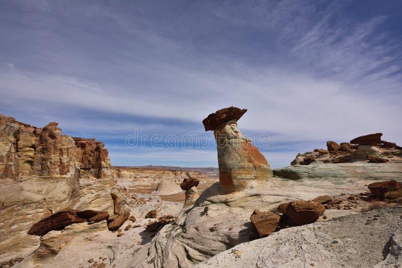 Bolzen-Pferdepunkt, Glen Canyon National Recreation Area lizenzfreie stockbilder