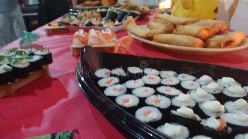 Bom alimento japonês imagens de stock royalty free