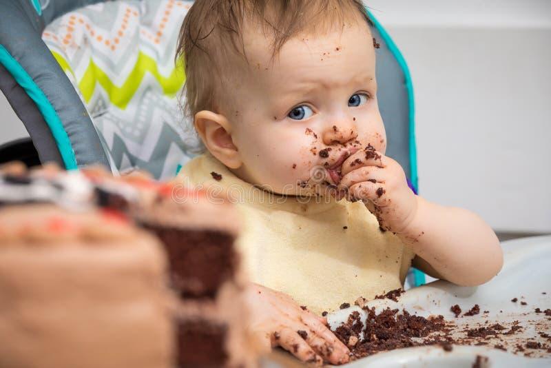 Bom bolo foto de stock