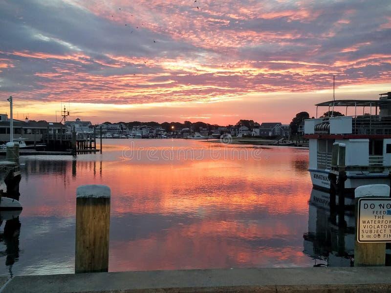 Bom dia Cape Cod imagem de stock royalty free