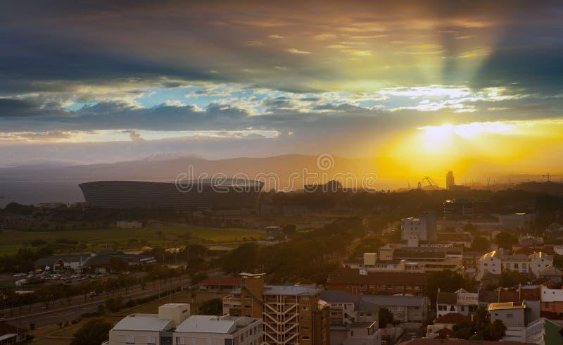Bom dia Cape Town fotos de stock