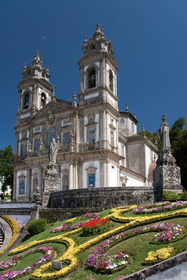 Bom Jesus. In Braga (Portugal royalty free stock images