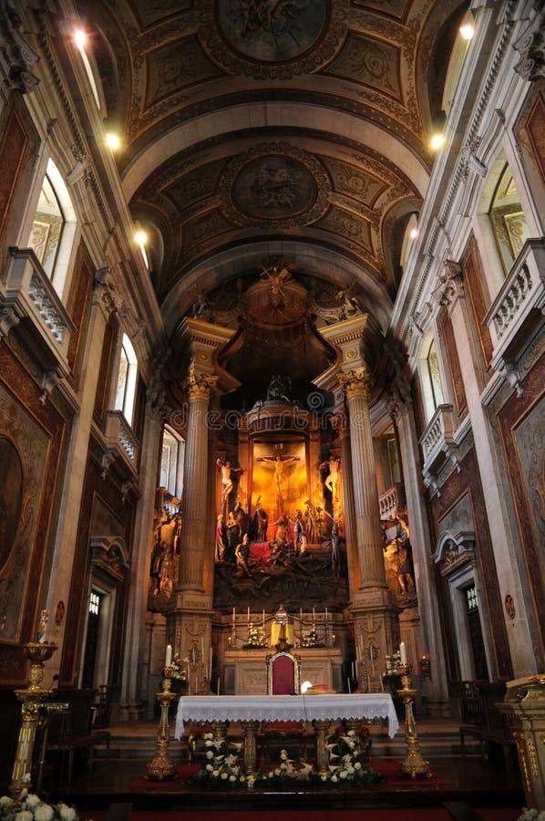 Bom Jesus. Portugal, the baroque church of Bom Jesus in Braga royalty free stock photography