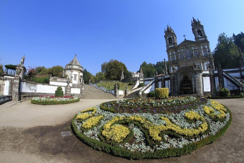 Bom Jesus de Braga. Portugal royalty free stock photo