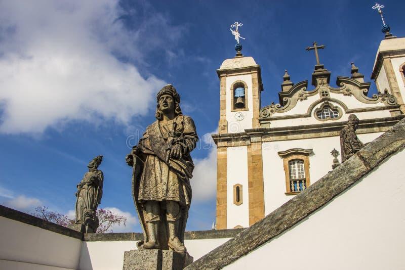 Bom Jesus de Matosinhos Shrine - Congonhas - Brasil imagem de stock royalty free