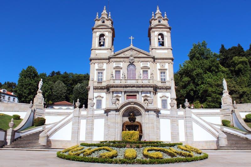 Bom Jesus Do Monte, Braga, Portugal stockfotos