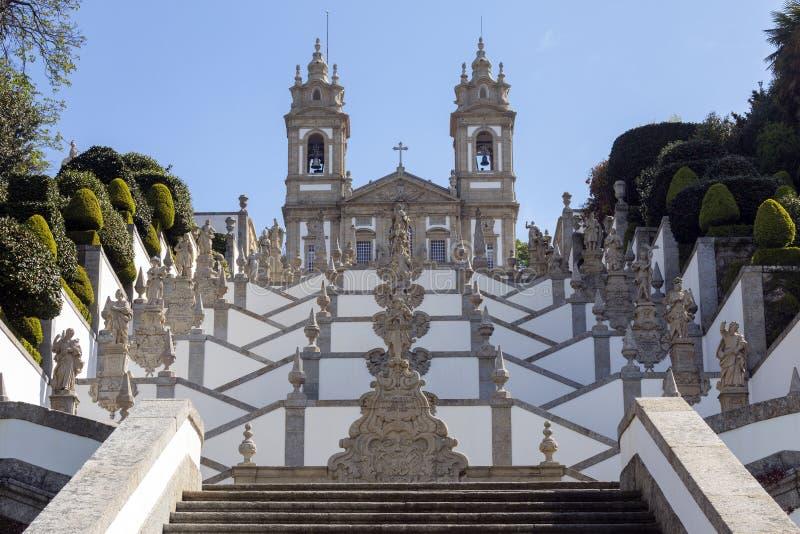 Bom Jesus do Monte - Braga - Portugal stock image