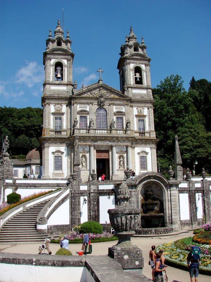 Bom Jesus do Monte sanctuary stock photos