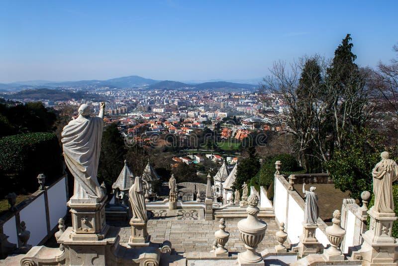 Bom Jesus. Portugal. Braga. Bom Jesus. Portugal. Religion Braga royalty free stock images