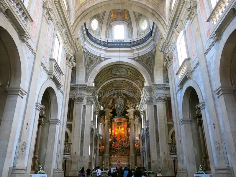 Bom Jesus Tun Monte In Braga, Portugal Redaktionelles Stockbild