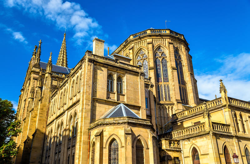 Bom pastor Cathedral de San Sebastian - Espanha fotografia de stock