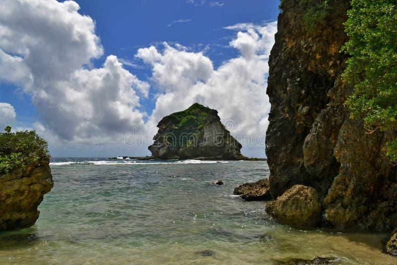Bom valor na ilha de Saipan imagens de stock royalty free