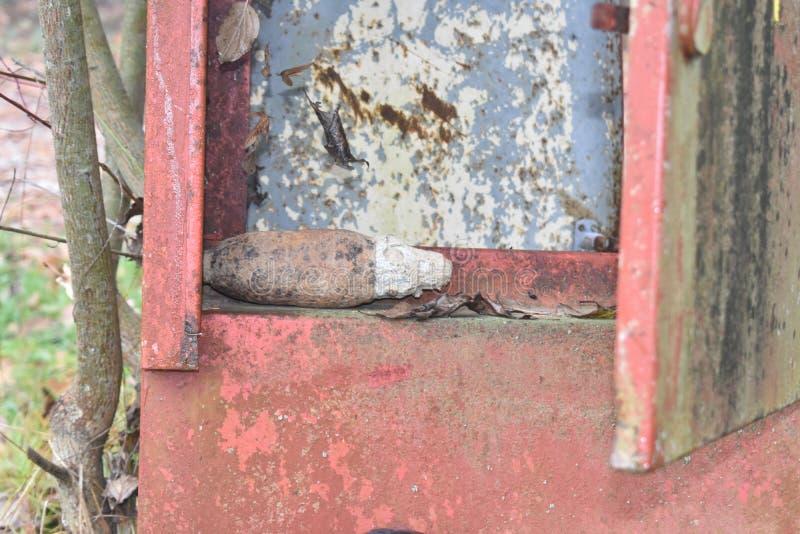 Bom van WO.II royalty-vrije stock afbeeldingen