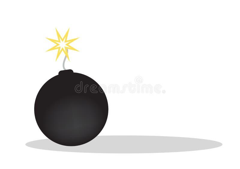 Bom - vector vector illustratie