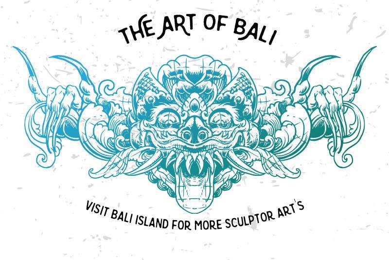 Boma karang орнамента Бали стоковые фотографии rf