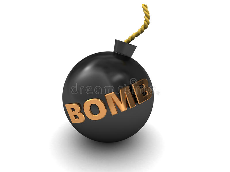 Download Bomb Royalty Free Stock Photos - Image: 11895498