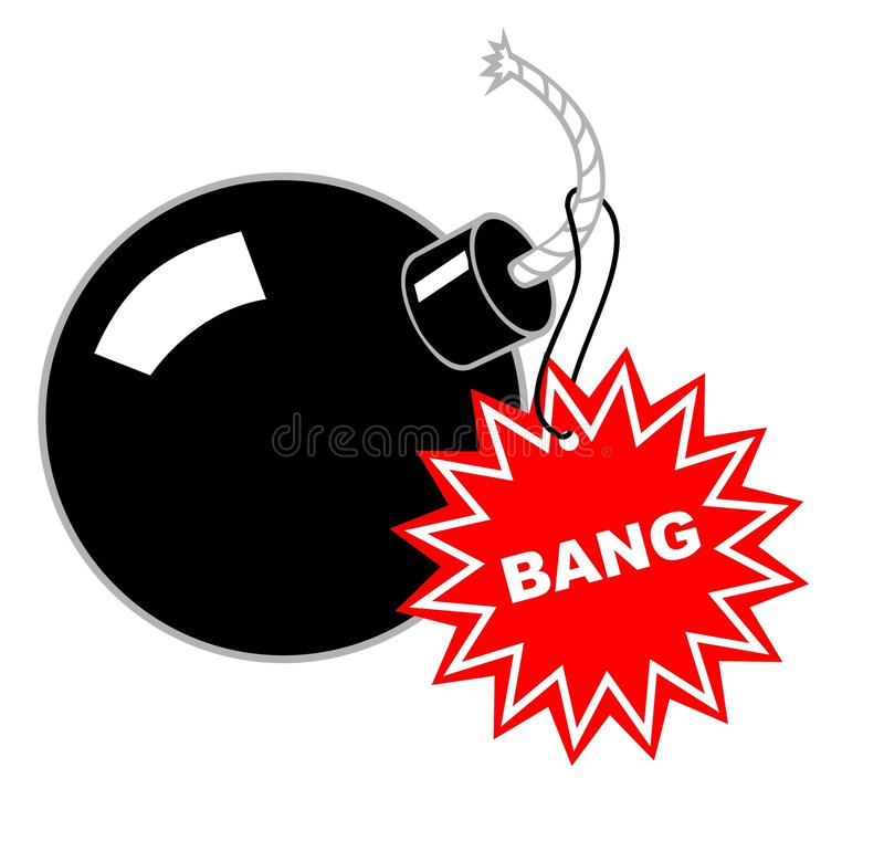 Download Bomb stock vector. Image of fire, illustration, marker - 2556134