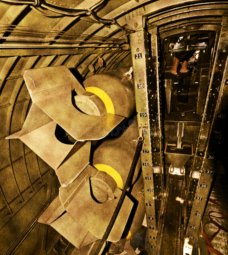 Download Bomb bay stock image. Image of bombardment, stained, grunge - 13194383