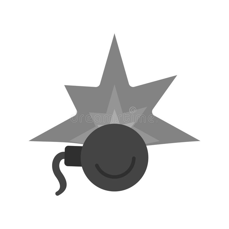 Bomb Blast vector illustration
