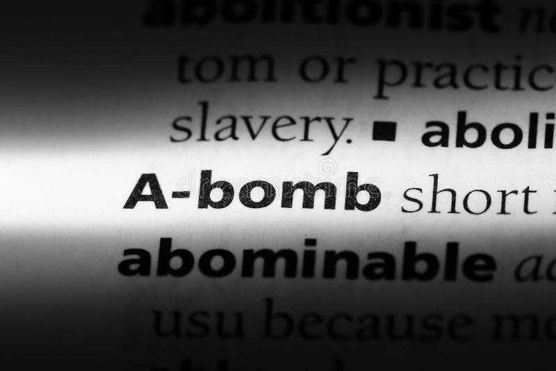 A-bomb stock images