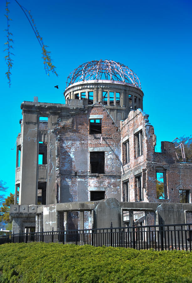 Download A-Bomb Dome in Hiroshima stock image. Image of airborne - 19201603