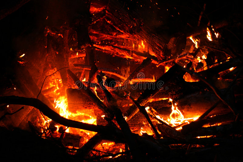 Download Bomb Fire stock photo. Image of flame, abstract, trees - 2613072