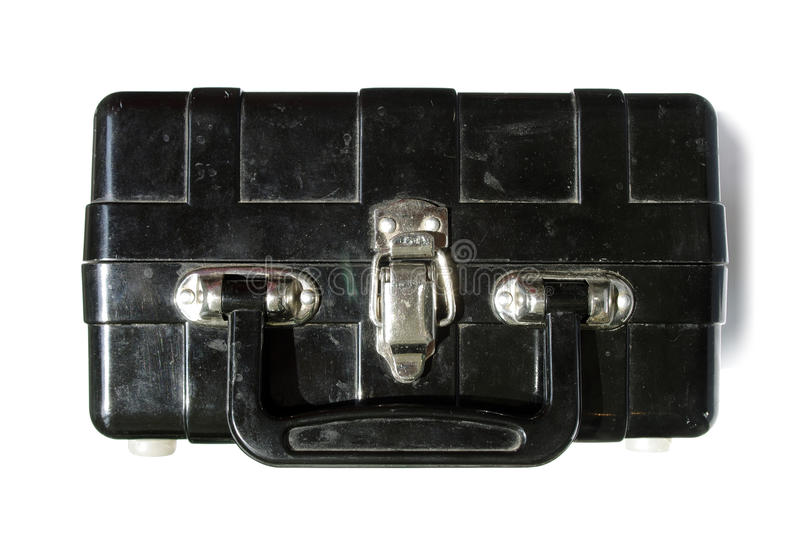 Bomb in a suitcase royalty free stock photos