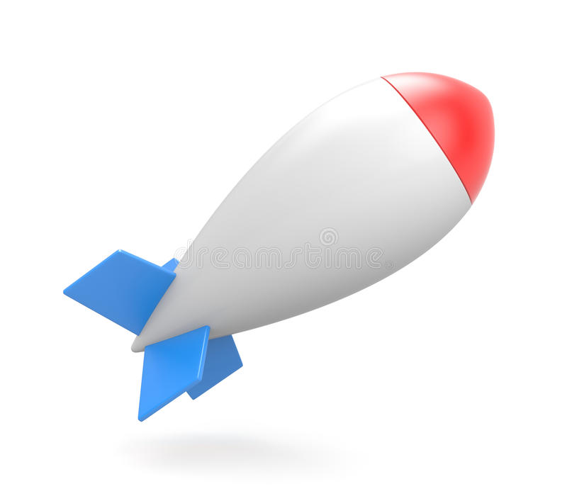 Bomba ilustración del vector