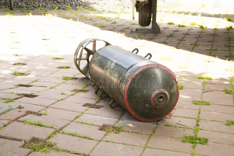 Bomba aérea da segunda guerra mundial imagem de stock royalty free