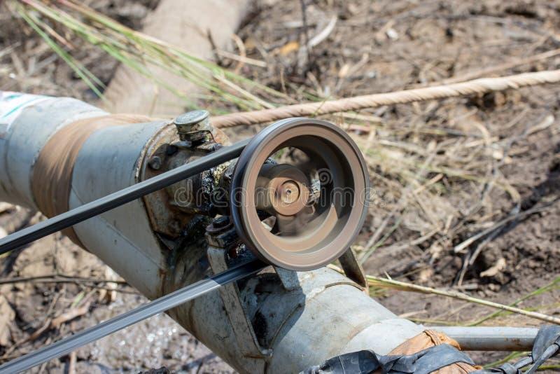 Bomba de água para cultivar foto de stock royalty free
