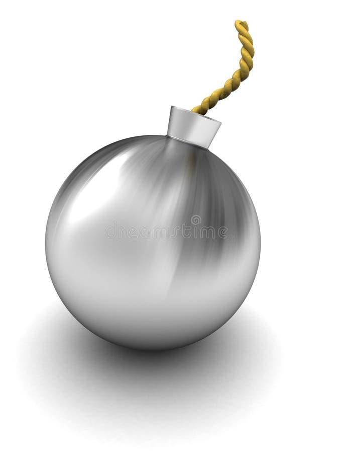 Bomba de acero libre illustration