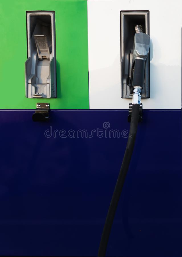 Bomba de combustível fotos de stock