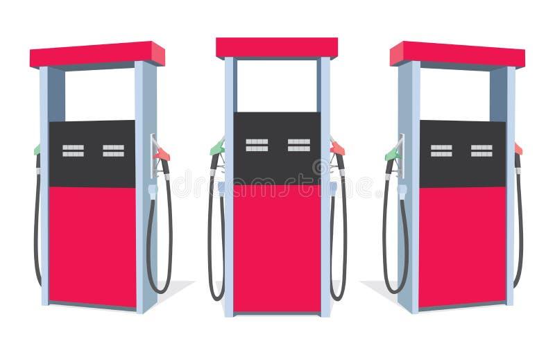 Bomba de combustível ilustração do vetor