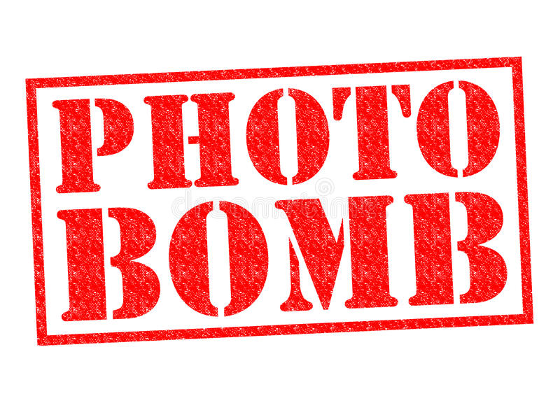 Bomba de foto stock de ilustración