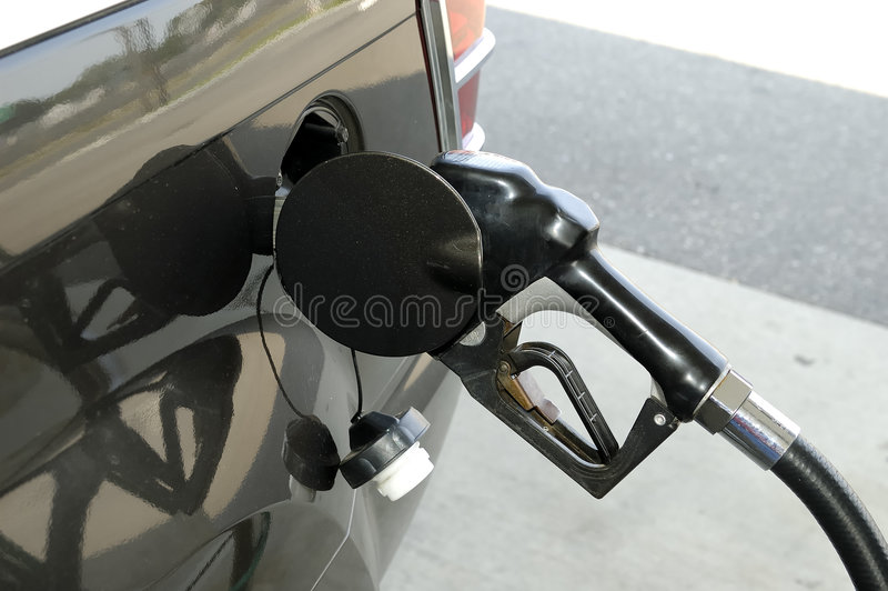 Bomba de gás foto de stock