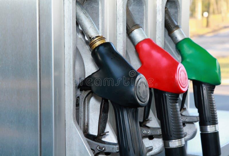 Bomba de gasolina fotografia de stock royalty free