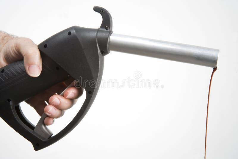 Bomba de gasolina imagem de stock royalty free