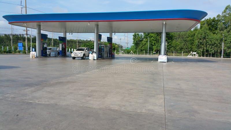 Bomba de gasolina do PTT foto de stock