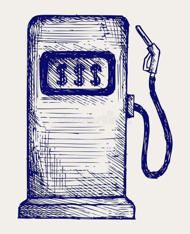 Bomba de la gasolinera libre illustration