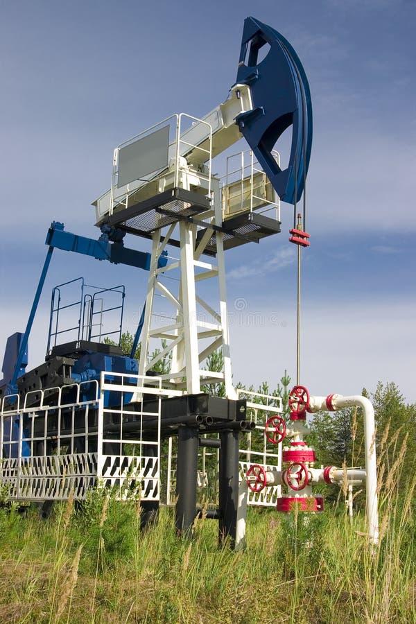 Bomba de petróleo fotos de stock