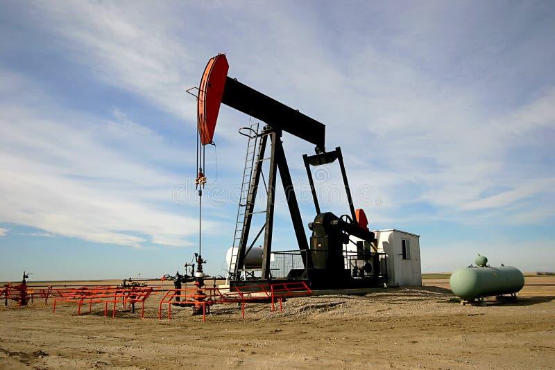 Bomba de petróleo Gato foto de archivo libre de regalías