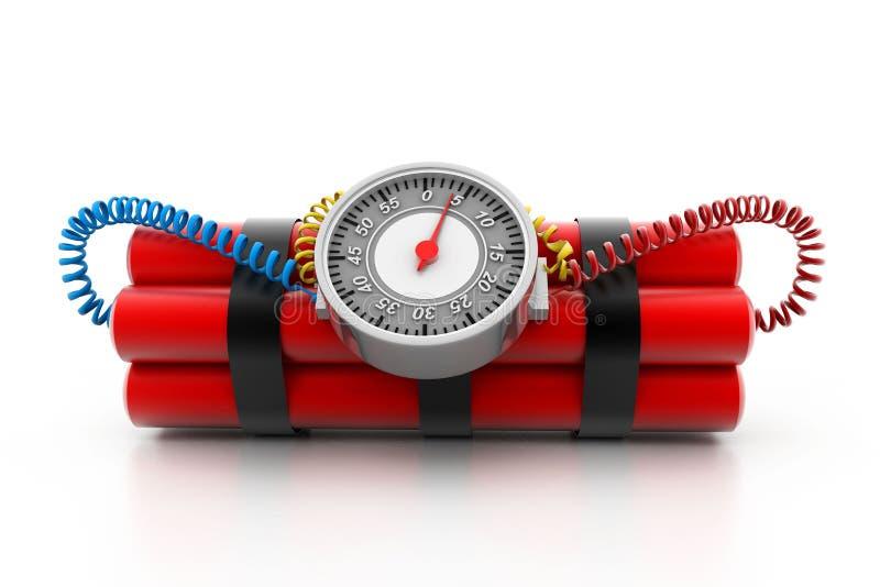 Bomba de relojería ilustración del vector