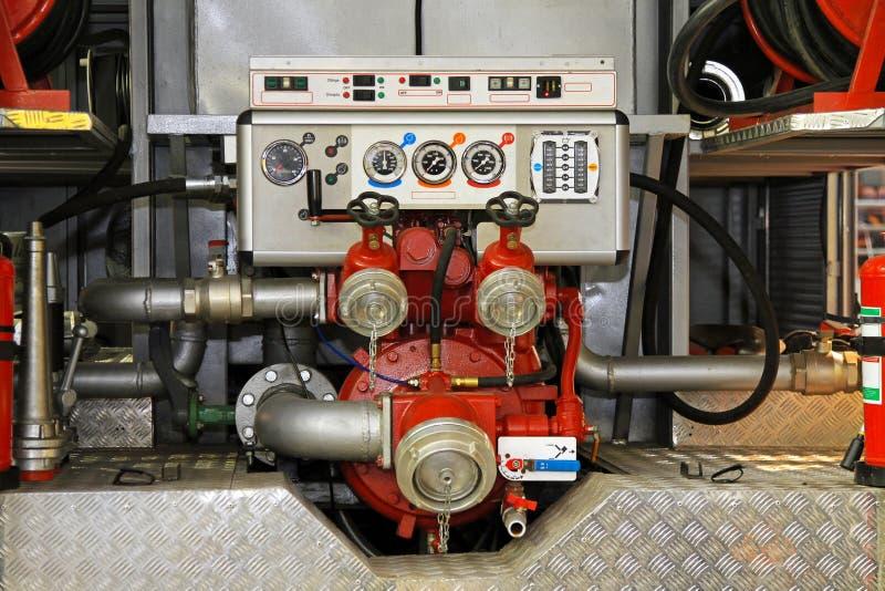 Bomba do motor de incêndio foto de stock royalty free