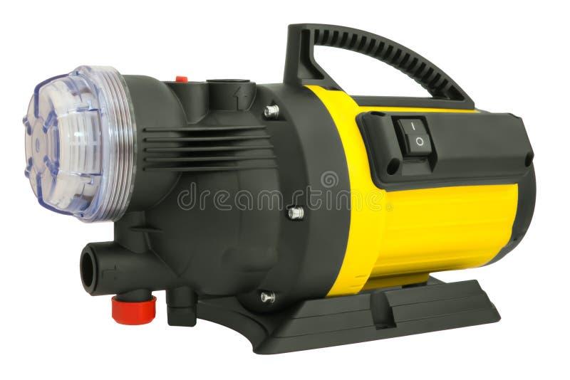 Bomba elétrica para a irrigação foto de stock