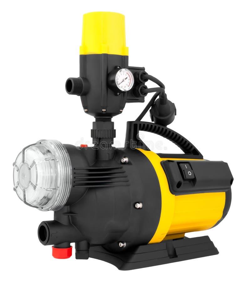 Bomba elétrica para a irrigação imagens de stock