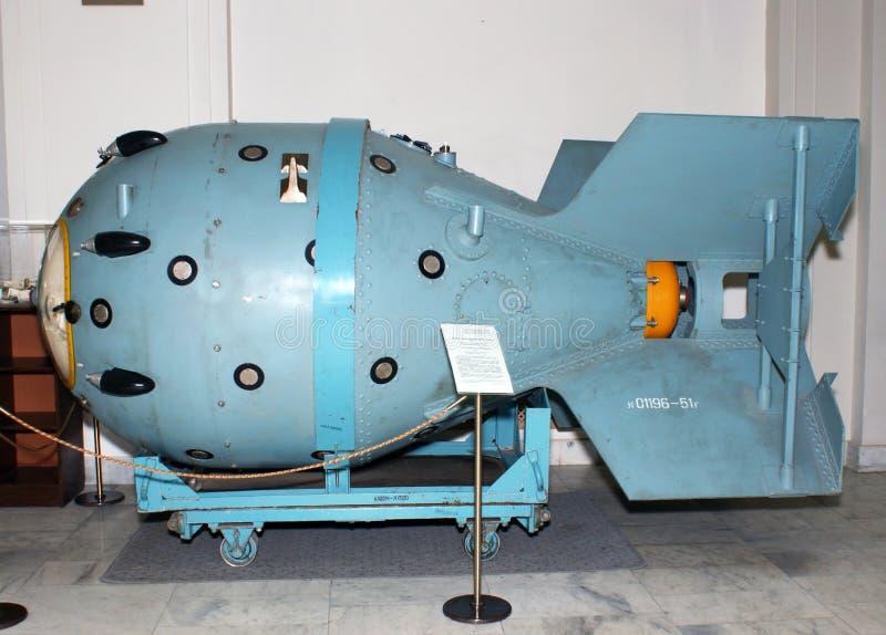 Bomba nucleare fotografia stock