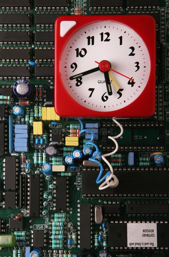 Bomba a orologeria di dati fotografie stock libere da diritti