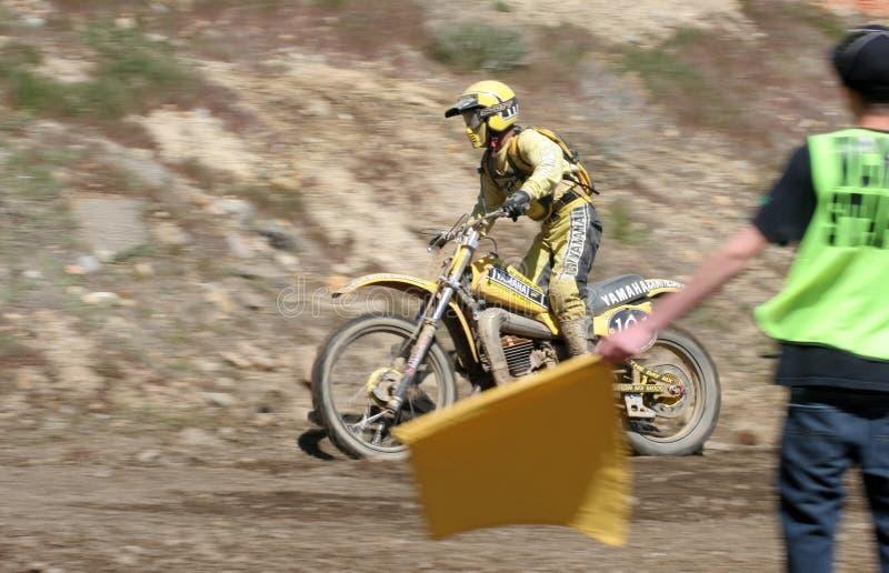 Bombardeiro amarelo fotografia de stock