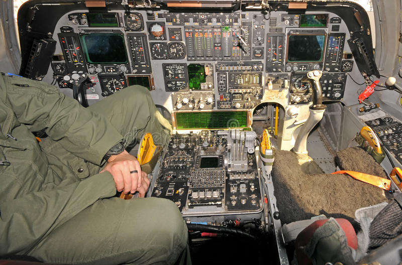 Bombardeiro estratégico de Rockwell B-1B fotografia de stock royalty free